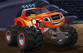 monster truck car racing games blaze and the monster machines u0027 teaming with nascar stars for new