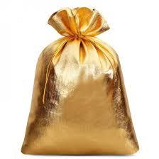 gold organza bags 5 pcs metallic bags 22 x 30 cm gold organza bags wholesale