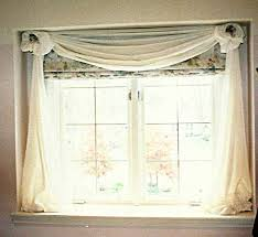 Curtain Rosettes Boxed Window Susan U0027s Designs