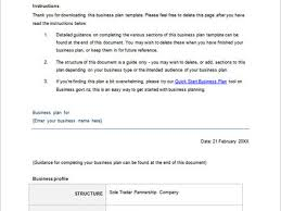 26 a simple business plan template business plan template sample