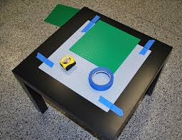ikea lego table hack legos table ikea lack side table becomes lego table with
