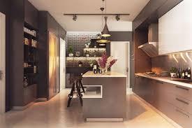 cuisine chaude impressionnant cuisine equipee noir et blanc 4 couleurs chaudes