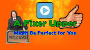 fixer upper logo how to buy and finance a fixer upper in a single mortgage youtube