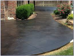 How To Stain Concrete Patio Yourself Staining Concrete Patio Do It Yourself Patios Home Design