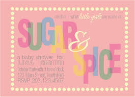 sugar and spice baby shower sugar and spice baby shower invitations free invitation ideas