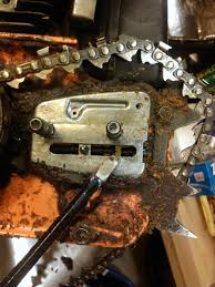 husqvarna 445 loose chain issue hearth com forums home