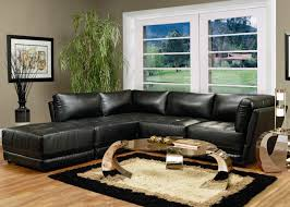 Contemporary Leather Sectional Sofa by Coaster Kayson Contemporary Leather Sectional Sofa Coaster Fine