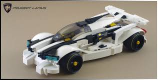 peugeot lego the brick bucket futuristic car picture show