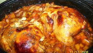 cuisiner poulet entier poulet entier à la patitou recettes du québec