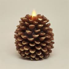 pine cone table decorations pine cone candle thanksgiving table decoration ideas popsugar