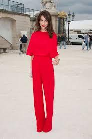 Red Jumpsuits For Ladies Best 25 Red Jumpsuit Ideas On Pinterest Elegant Jumpsuit