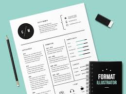 adobe resume template photoshop templates free indesign templates