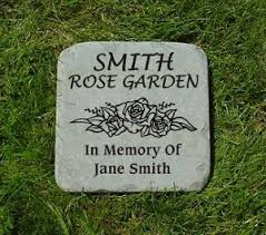 personalized garden stones bluestone engraved memorial stones personalized garden stones and