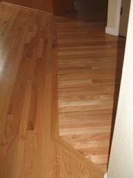 how to connect 2 different wood floors search virgina
