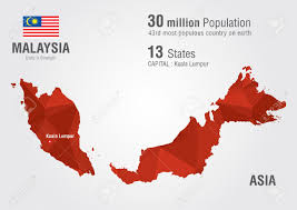 Population World Map by Malaysia World Map With A Pixel Diamond Texture World Geography