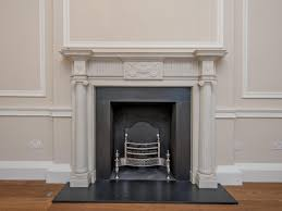 bespoke fluted column fireplace antique fireplaces london