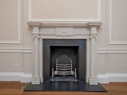 bespoke fluted column fireplace antique fireplaces london