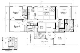 3 bedroom 2 bath mobile home floor plans the maiden ii modular home plan manufactured floor plans