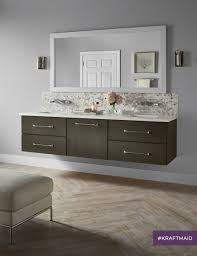 Kraftmaid Bathroom Vanity by A New Vanity Option With A Contemporary Style It U0027s Floating