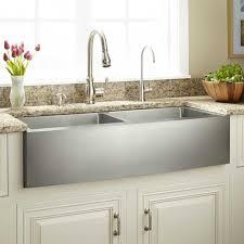 Best  Stainless Steel Farmhouse Sink Ideas On Pinterest - Kitchen farm sinks