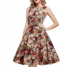 summer dresses fashion women print dress 2017 party summer dresses ladie