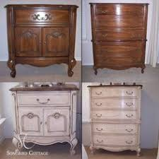 Painting French Provincial Bedroom Furniture by Vintage Country Style French Provincial Dresser Rehab