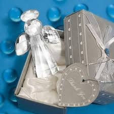 Angel Decorations For Baby Shower Crystal Collection Angel Figurines Wedding Favors Baby Carriages