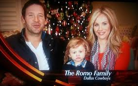 dallas cowboys tony hawkins and candice romo wish you a happy