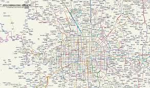 Beijing Map The Coverage Ratio Of Bus Station And Spatial Feature Evaluation