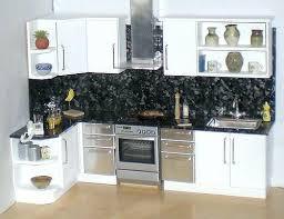 dolls house kitchen furniture dollhouse kitchen furniture 3 pieces white kitchen set wooden