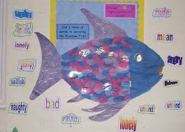 rainbow fish classroom displays photo gallery sparklebox
