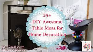 25 awesome table ideas for home decoration k4 craft