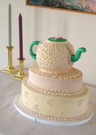 Kitchen Tea Cake Ideas Hamptons Teapot Bridal Shower Cake By Marneycakes On Deviantart