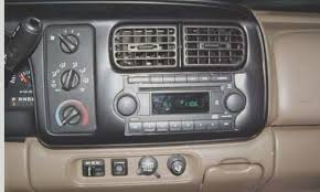 dodge durango stereo durango dodge radio fit in a 1998 durango