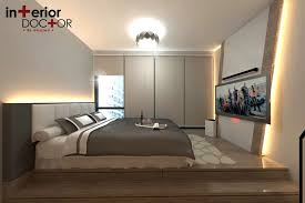 Platform Bed Singapore Modern Contemporary At 19 Tampines Trillant