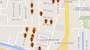 Zip Code Map Broward by Offenders Cluster In Broward Zip Code 33317