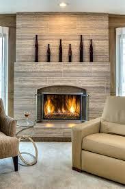 stone tile fireplace mantels image ideas stacked veneer surround