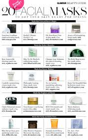 20 masks to get your skin ready for spring treat yo u0027 self