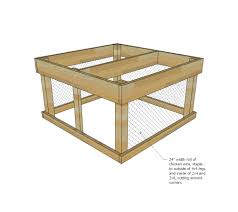 Long Planter Box by Ana White Small Chicken Coop With Planter Clean Out Tray And