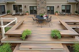 photo terrasse composite terrasse composite moselle u2013 vue sur cour