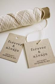 favor tags forever and always personalized favor tags printable on luulla
