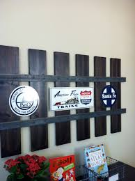 love this railroad track wall frame home decor ideas pinterest