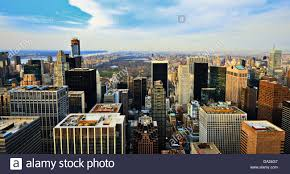 manhattan skyline manhattan skyline with a view of central park facing uptown in new