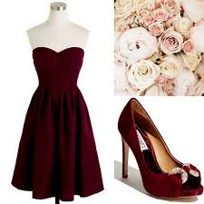Wine Colored Bridesmaid Dresses 25 Best Cranberry Bridesmaid Dresses Ideas On Pinterest