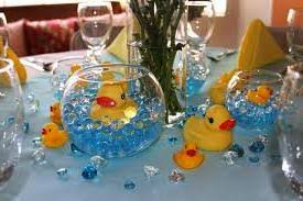 Rubber ducky baby shower decoration Ideas wonderful Baby Shower