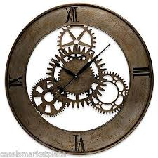 Wall Clock Design 37 Best Clocks Images On Pinterest Wooden Gears Woodworking