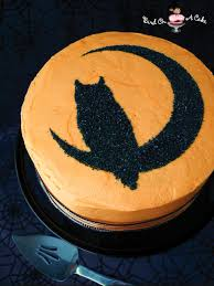 Halloween Cakes Easy To Make by Bird On A Cake Halloween Owl Stencil Cake