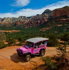 white and pink jeep sedona packages u0026 offers l u0027auberge de sedona