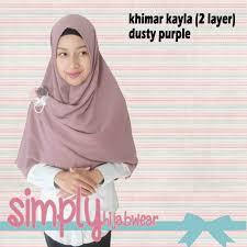 khimar kayla warna dusty purple u2013 simplyhijabwear