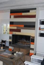 parement bois mural parement bois intérieur vieilli peint retro style cabuy